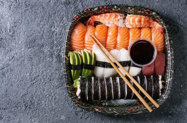 Il sushi e il sashimi, i compagni ideali della dieta