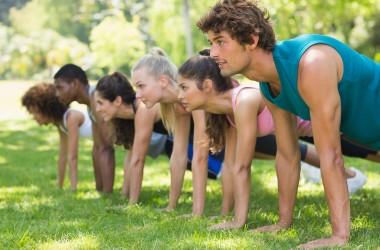 Nuovo allenamento… oggi si palra di piegamenti sulle braccia!