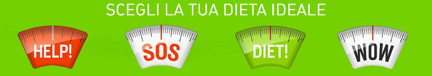 scegli la tua dieta