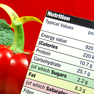 Tabella calorie