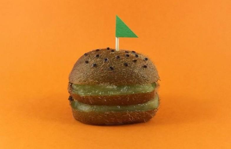 E' un hamburger? No è un kiwi