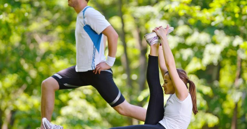 …ed ora un po di rilassamento con lo Stretching #SporTIAmo