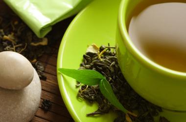 Cosa c'è in una tazza di tè verde?