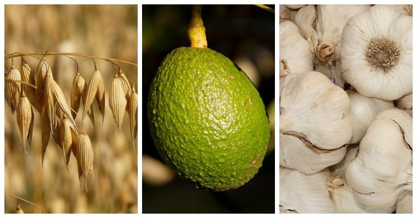 Avocado, avena e aglio contro il colesterolo cattivo