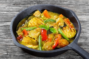 Verdure al curry: ricetta light