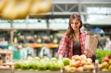 La spesa di Ottobre: frutta e verdura
